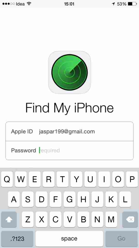 Track Your lost iOS device Using 'Find My iPhone' app