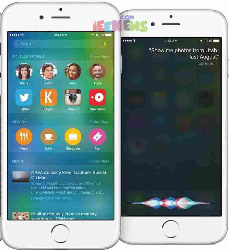 Apple iOS 9 – Siri gets smarter with context-sensitive feature or proactive assistant