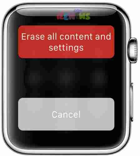 How to Unpair, Erase content, and Remove apple pay from Apple Watch
