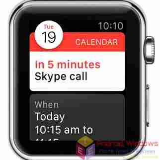 How to Set reminders on apple watch