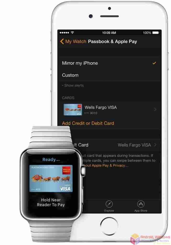 Set up Apple Pay on Apple Watch
