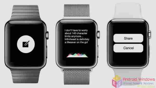 How to create and send a new message on Apple Watch