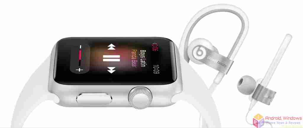 Listen to music on your Apple Watch