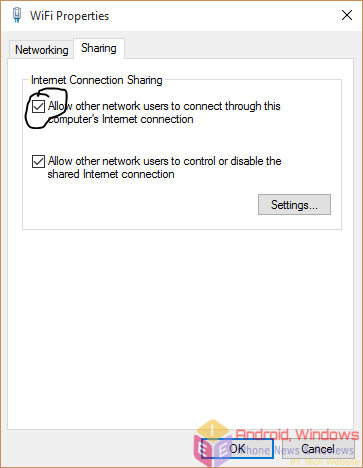 Making a wireless home network connection in Windows - Step 4