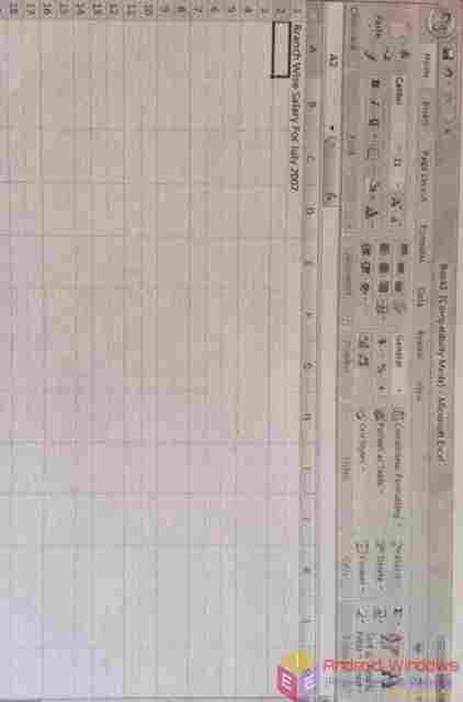 Enter data manually in worksheet cells