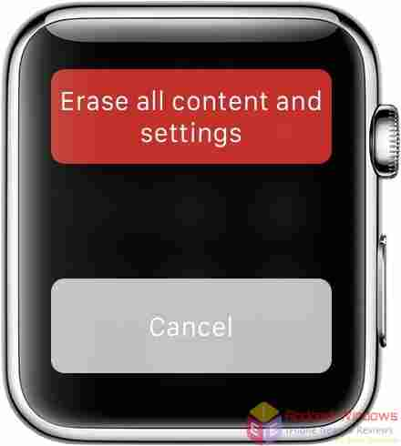 How to reset Apple watch to factory settings - Erase Apple Watch