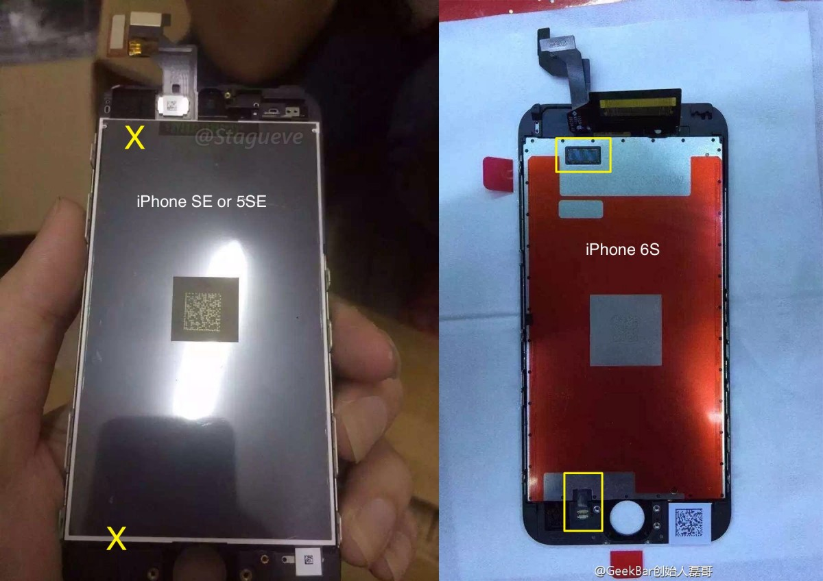 iPhone SE new photos and seemingly eradicated features