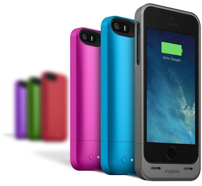 Mophie Juice Pack Helium: External battery for iPhone 5