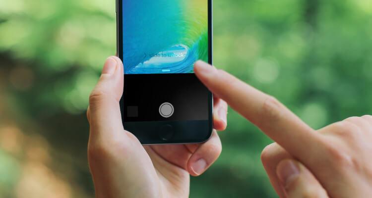 Turn off iPhone flashlight On iOS 7 and iOS 8, iOS 9 using Lock screen camera