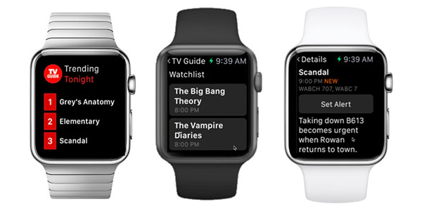 Best apple watch apps: TV Guide