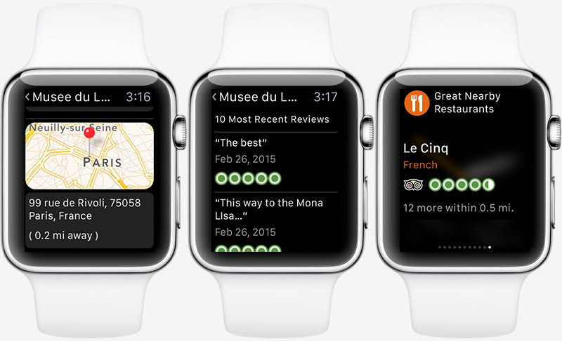 Best apple watch apps: TripAdvisor