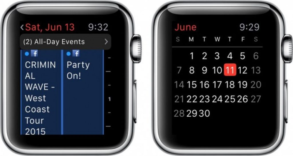 Best apple watch apps: Calendar