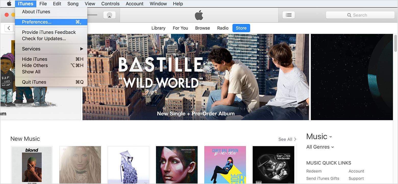 choose iTunes > Preferences. Turn off iCloud Music Library or Disable iCloud Music Library On Winodws PC: Disable iCloud Music Library Using iTunes