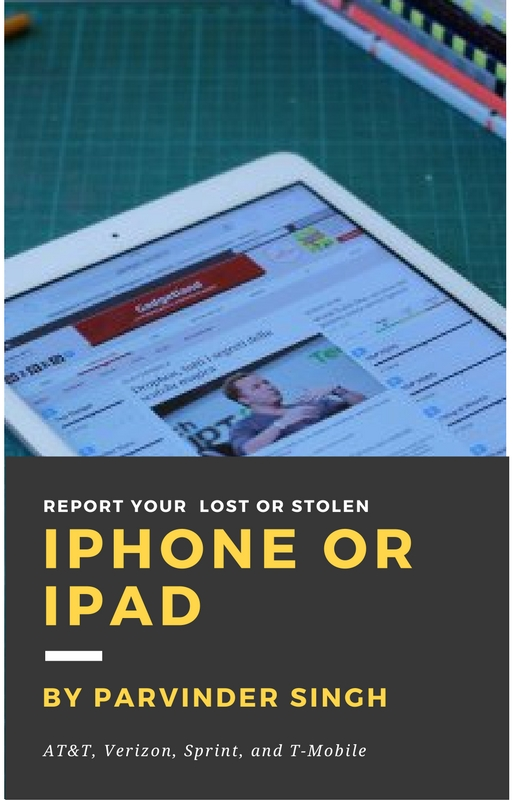 Report your lost or stolen device AT&T, Verizon, Sprint, and T-Mobile: Can i find iPhone without iCloud or an Apple ID