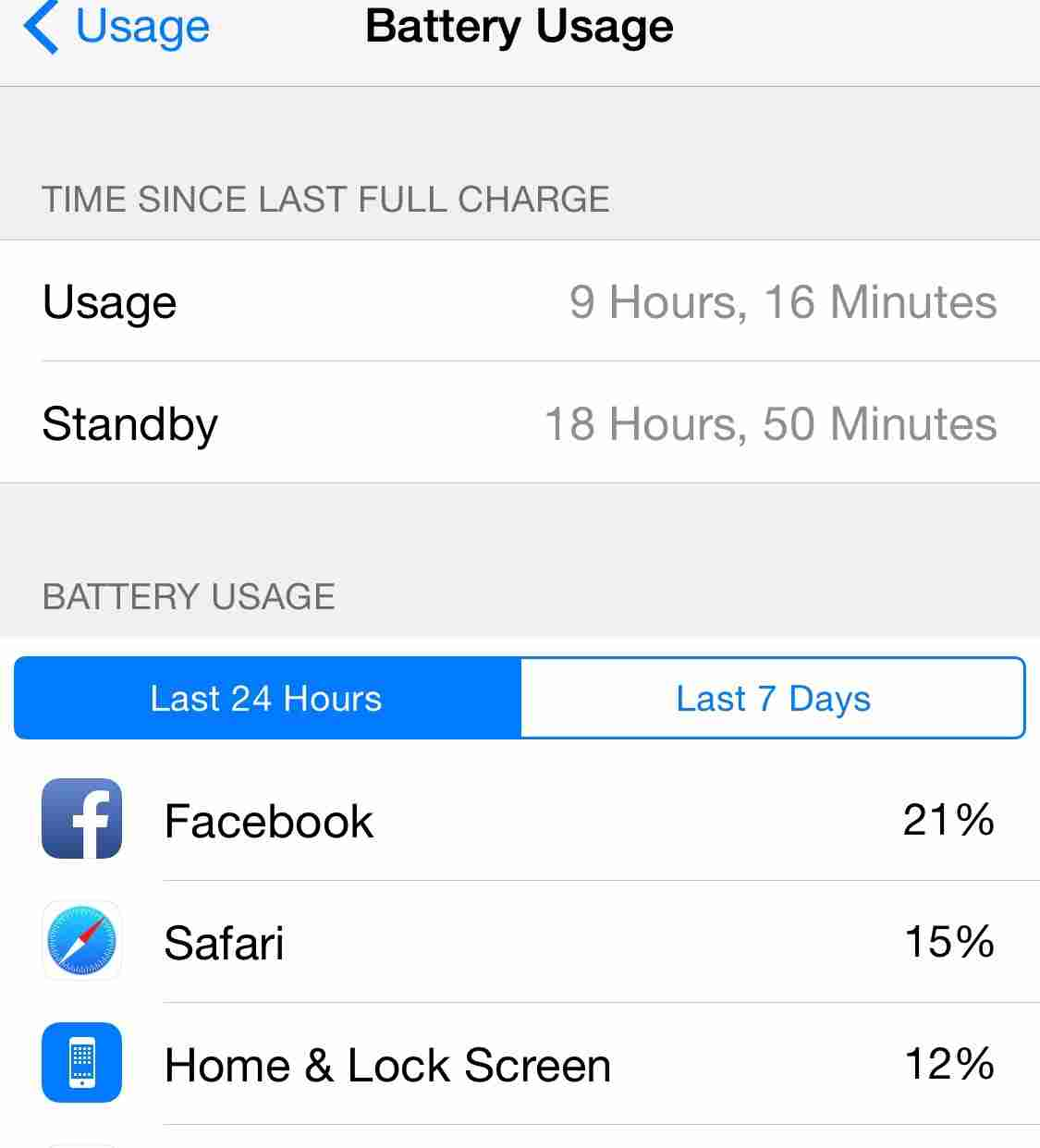How to improve battery life on iPhone running iOS 8