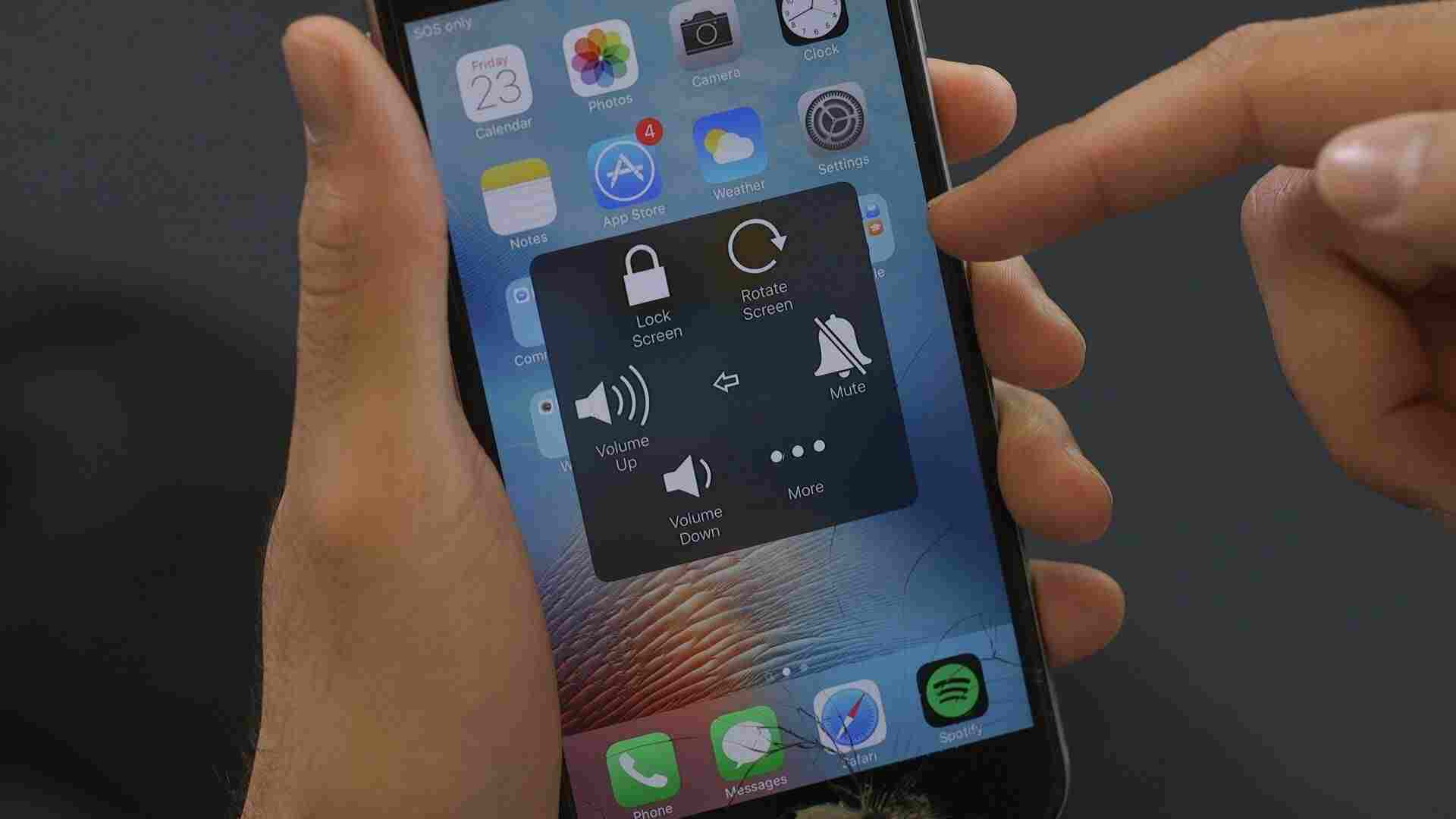 How to Turn on AssistiveTouch on the iPhone 6