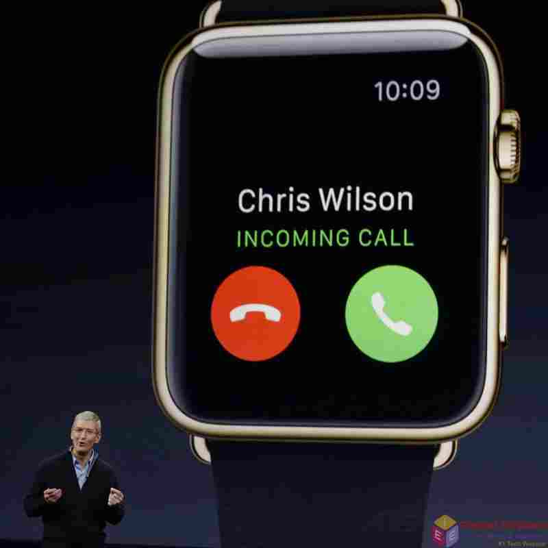 Apple watch: How to Answer a call and make phone calls from apple watch