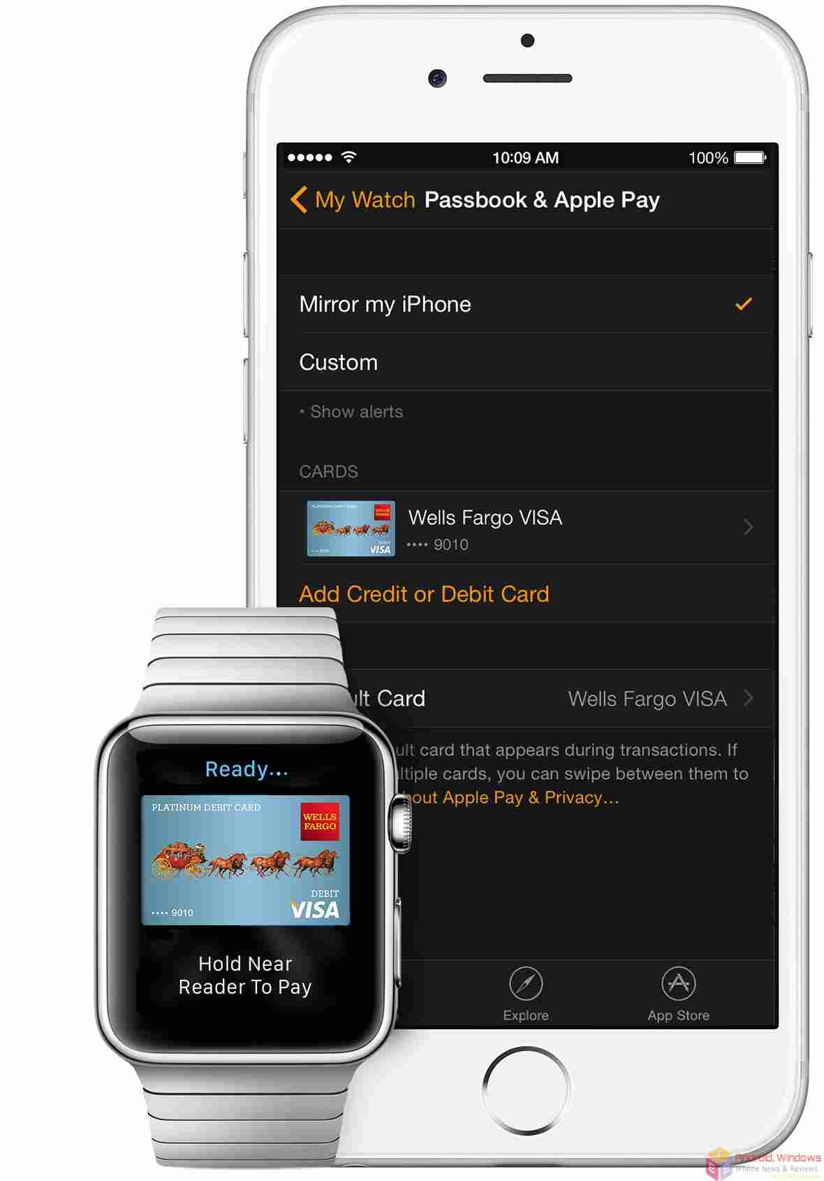 Set up Apple Pay on Apple Watch