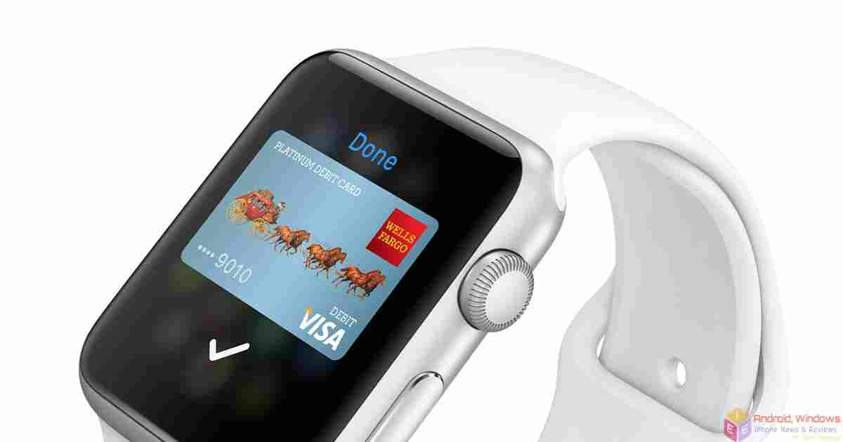 purchase with apple pay and apple watch
