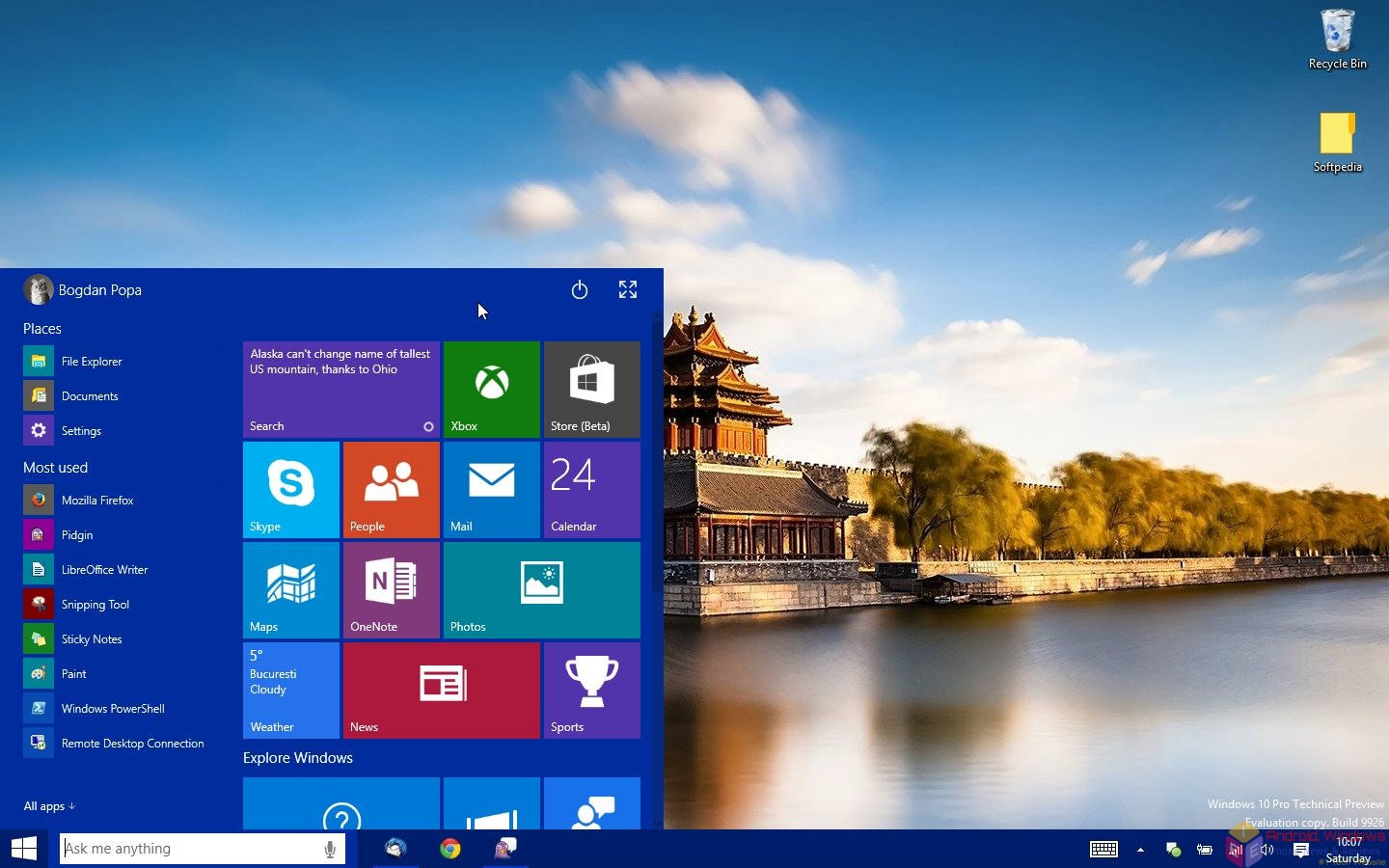 Microsoft Windows 10 full guide