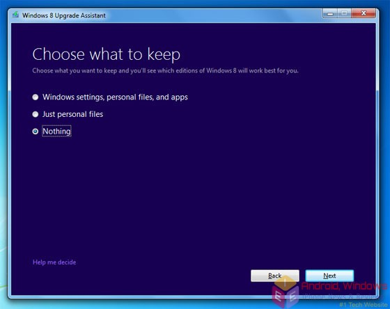 How to perform a clean installation of Windows 8