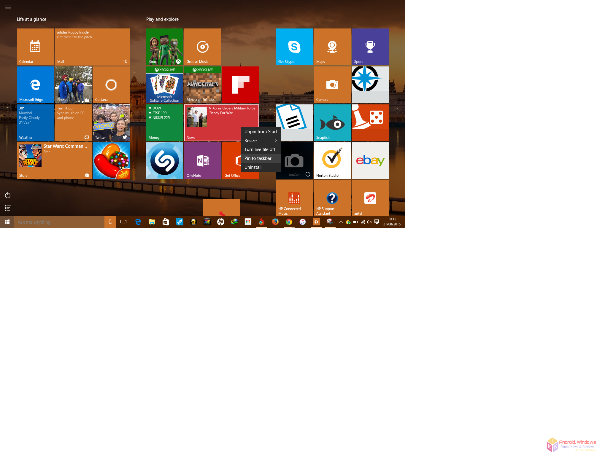 Windows 10 How To: Customize the Start Menu