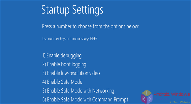 How To Boot Into Safe Mode On Windows 8 or 10