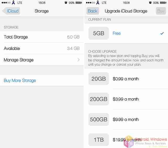 how do i increase my icloud storage - Buy extra icloud storage