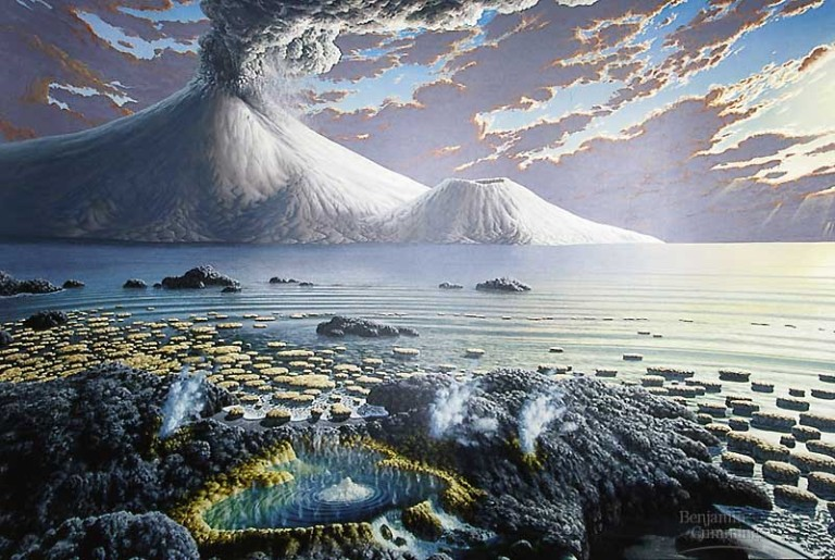 Origin of water on earth