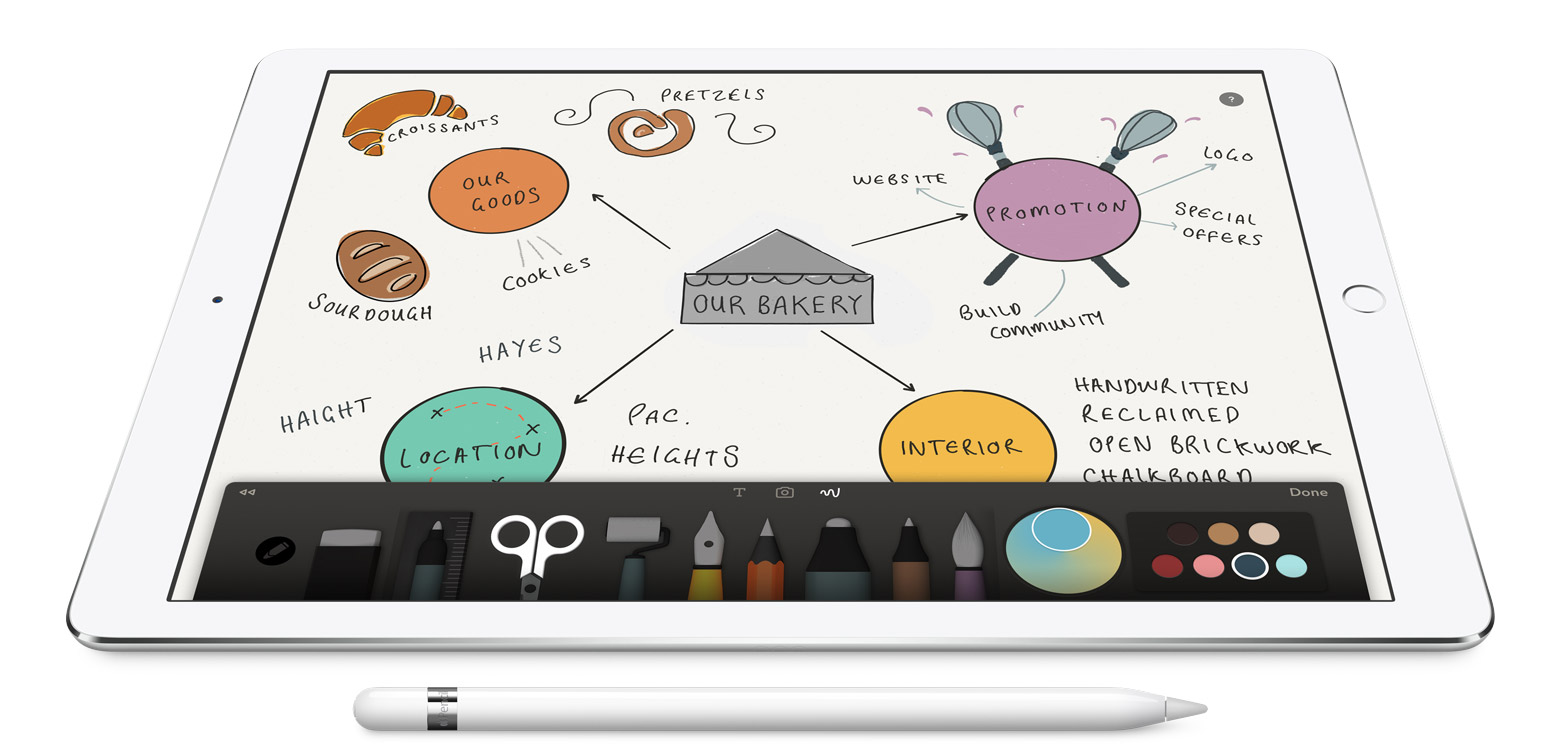 Apple Pencil support coming to rumored 9.7