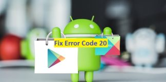 "Fix Error Code 20: Error 20 android google Play Store: ""Printer Not Activated - Error Code 20"""