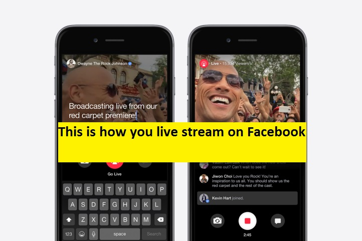 How do you do live video on Facebook? Broadcast on Facebook Live for iOS and Android