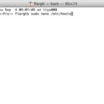 type sudo nano /etc/hosts then hit return.: How to Block Websites on mac: Unblock websites on mac: Block websites on mac through MAC OSX