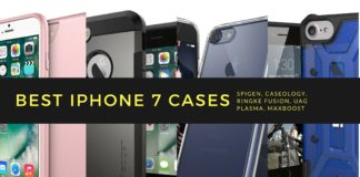 Best iPhone 7 Cases for Your new iPhone: Spigen, Caseology, Ringke Fusion, UAG Plasma, Ringke Fusion, Apple Smart Battery Case Caseology Parallax, Spigen Tough Armor