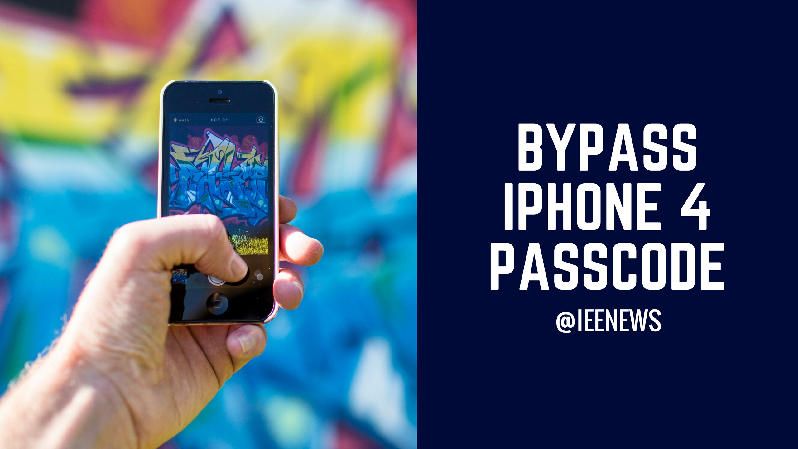 how to bypass iphone 4 passcode ios 7