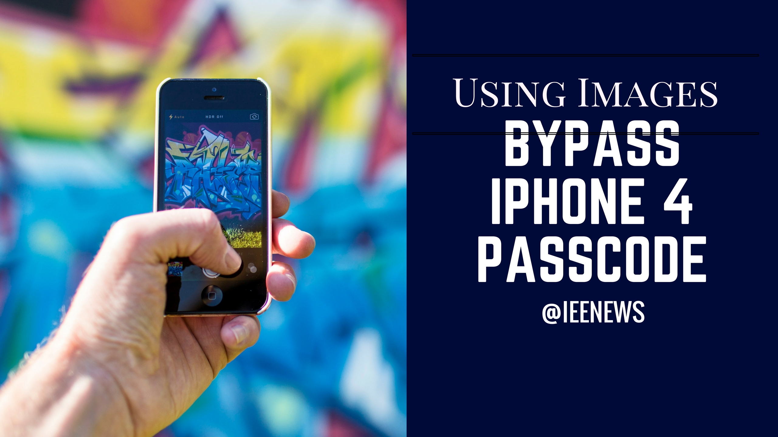 How to bypass iPhone 4 Passcode Unlock a disabled iPhone ...