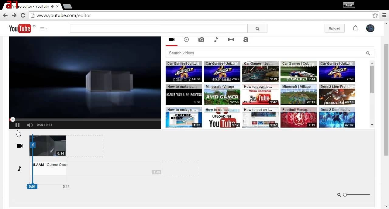 YouTube Video Editor one of the fastest and Best free online