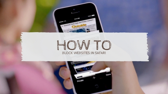 How to block websites in Safari web browser on iPhone 7, 7 Plus, iPhone 6s Plus, iPhone 6 Plus, iPhone 5s, iPhone SE and iPad