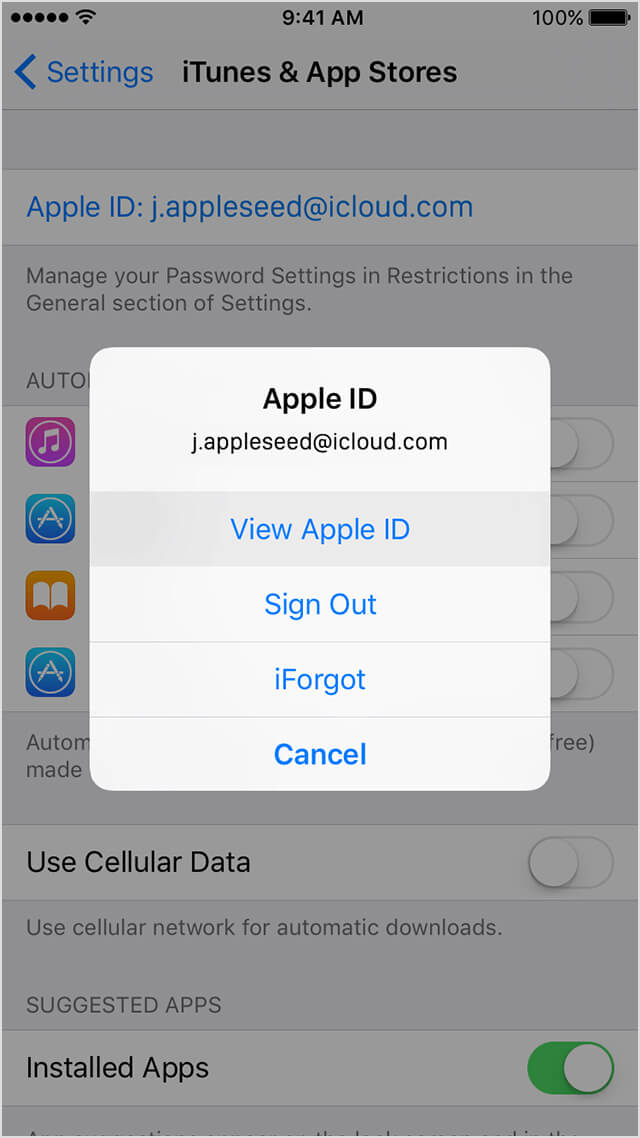 how to find forgotten apple id password