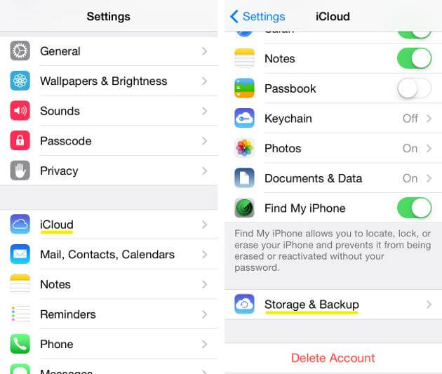 How to back up an iPhone or iPad using icloud before you wipe it