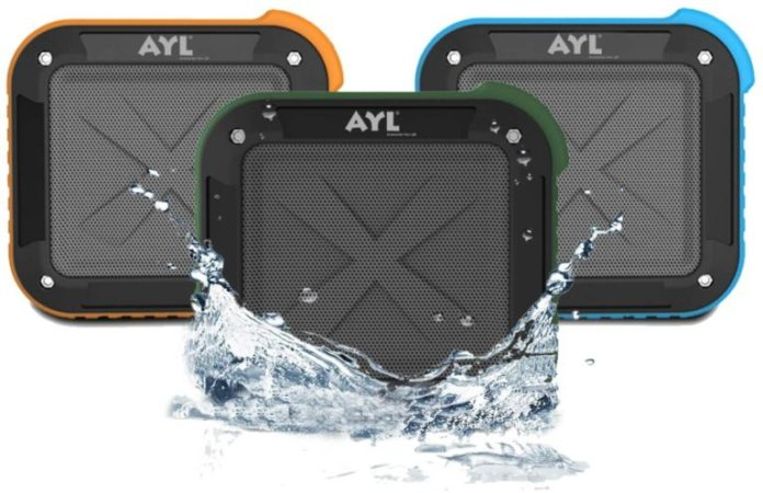 AYL Portable Waterproof Speaker Review ($27.99) AYL Bluetooth speaker