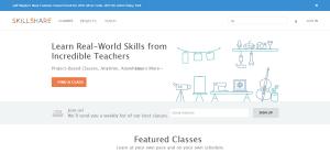 skillshare Best coursera alternative For Online Learning