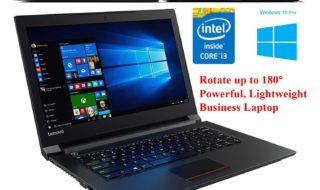 Lenovo Ideapad V310 Business Laptop i3-6100 Processor, 6GB RAM - Best laptop under 400