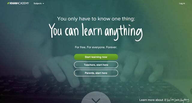 khanacademy - site like udemy - Best coursera alternative For Online Learning