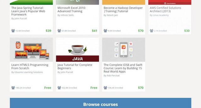 udemy Best coursera alternative For Online Learning
