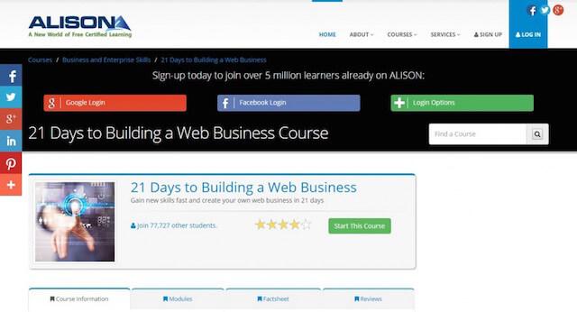alison Best coursera alternative For Online Learning