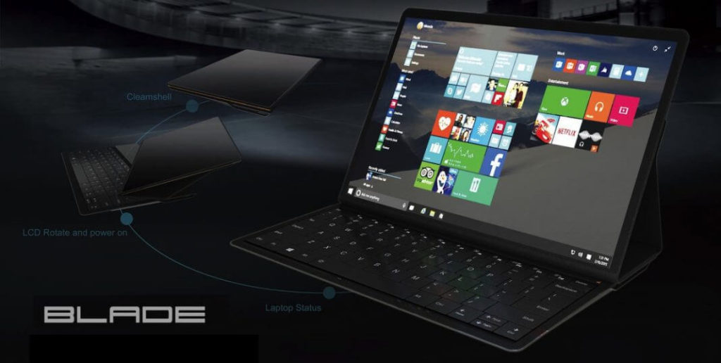 Lenovo Blade is a sharp 2-in-1 laptop  with Windows 10