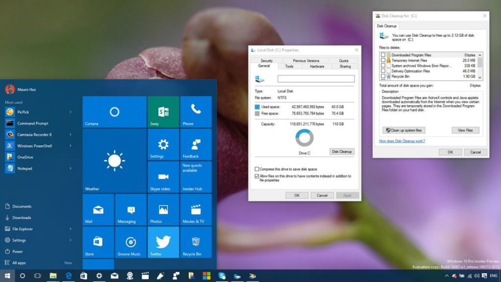 How to delete windows old, How to free up disk space on windows