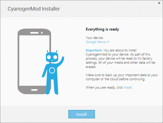 4 How to Install CyanogenMod How to install custom rom on android