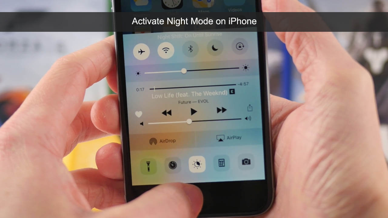 iPhone Night Mode: How to Enable or Disable Night Shift Mode on iPhone/iPad